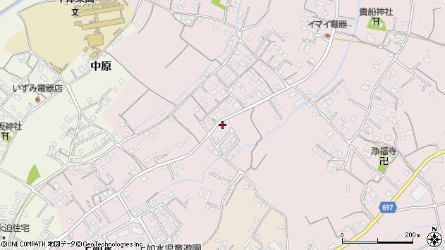 大分県中津市上如水715周辺の地図