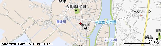 大分県中津市今津548周辺の地図
