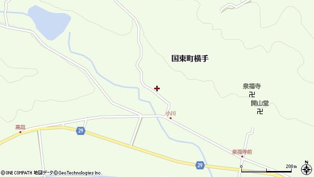 大分県国東市国東町横手2119周辺の地図