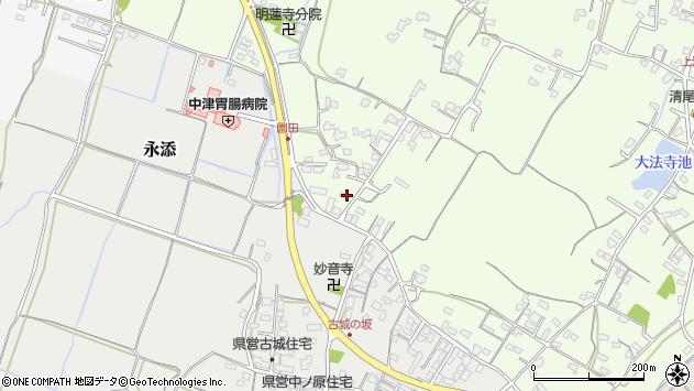 大分県中津市上池永716周辺の地図