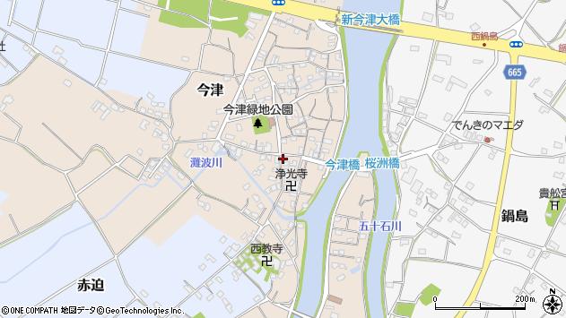 大分県中津市今津574周辺の地図