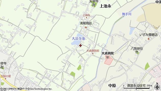 大分県中津市上池永181周辺の地図