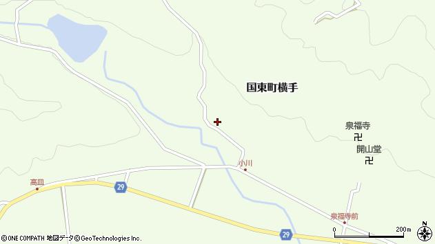 大分県国東市国東町横手2105周辺の地図