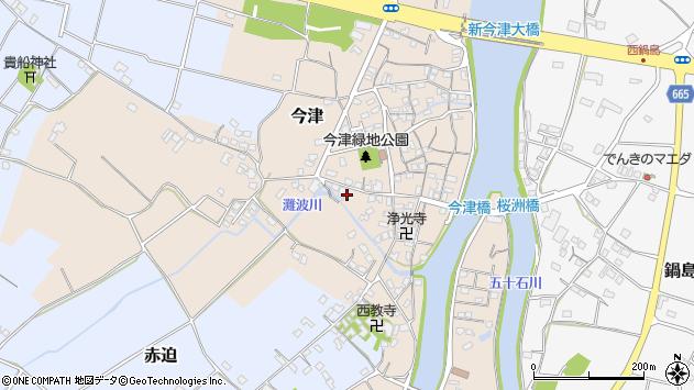 大分県中津市今津551周辺の地図