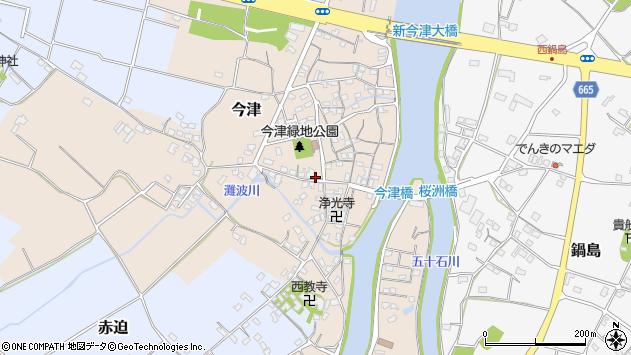 大分県中津市今津282周辺の地図