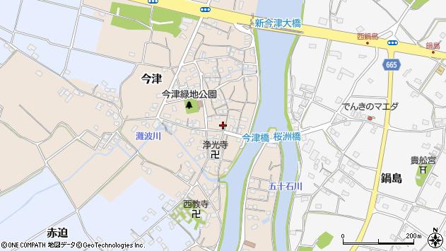 大分県中津市今津272周辺の地図