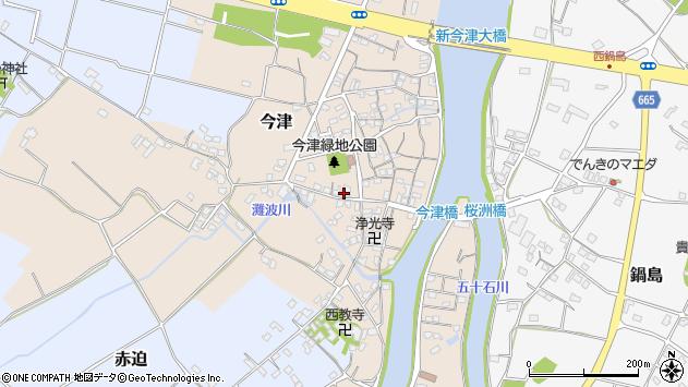 大分県中津市今津283周辺の地図