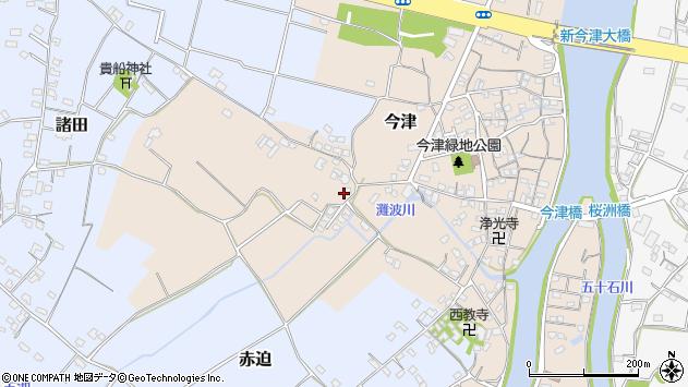 大分県中津市今津355周辺の地図