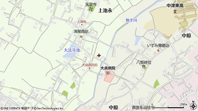 大分県中津市上池永14周辺の地図