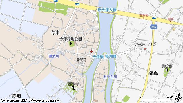 大分県中津市今津251周辺の地図