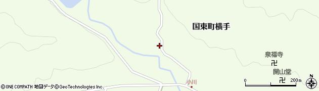 大分県国東市国東町横手2099周辺の地図