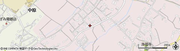 大分県中津市上如水556周辺の地図