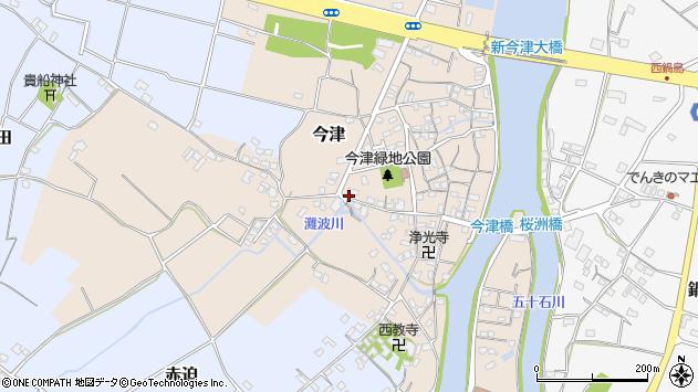 大分県中津市今津297周辺の地図
