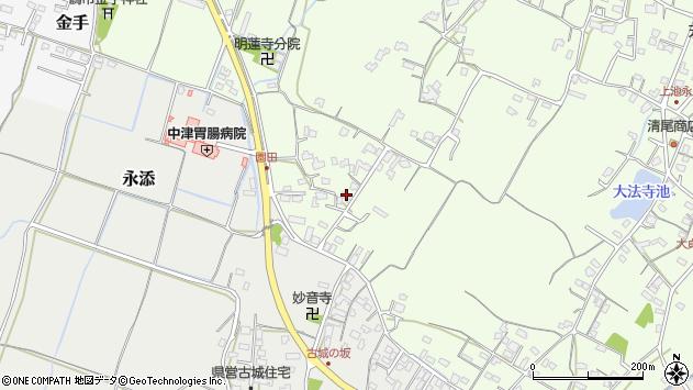 大分県中津市上池永704周辺の地図