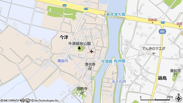 大分県中津市今津232周辺の地図