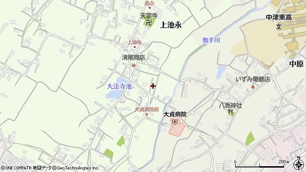 大分県中津市上池永189周辺の地図