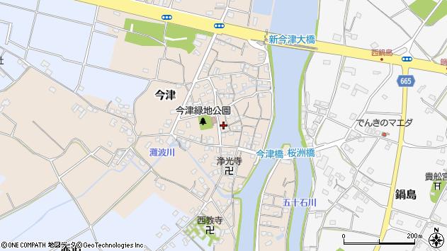 大分県中津市今津160周辺の地図