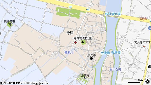 大分県中津市今津293周辺の地図