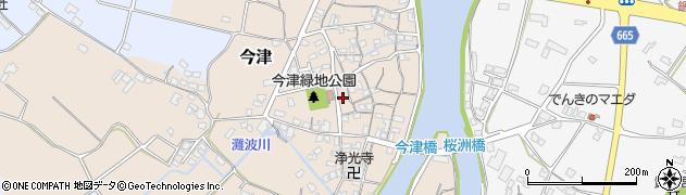 大分県中津市今津271周辺の地図