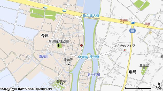 大分県中津市今津224周辺の地図