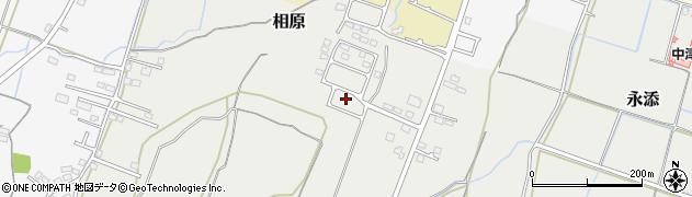 大分県中津市相原3850周辺の地図