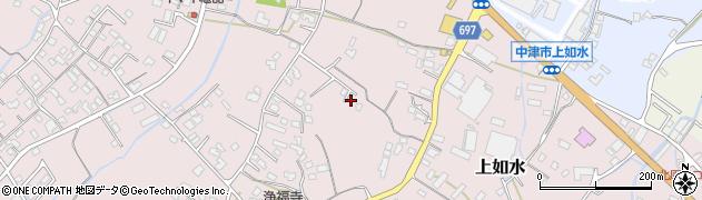 大分県中津市上如水1214周辺の地図