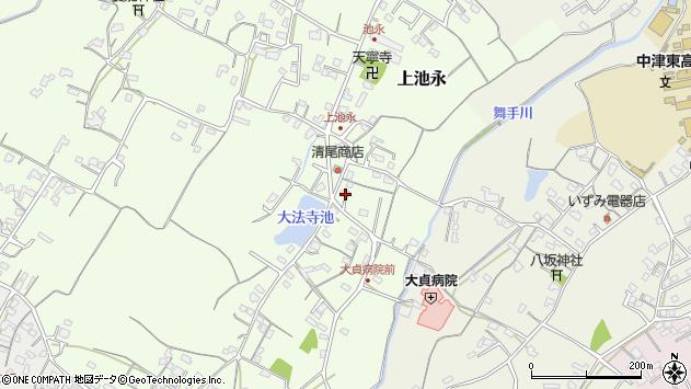 大分県中津市上池永195周辺の地図