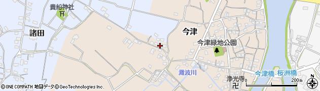 大分県中津市今津320周辺の地図