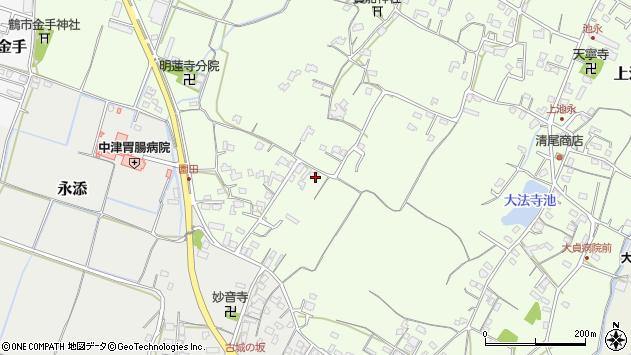 大分県中津市上池永602周辺の地図