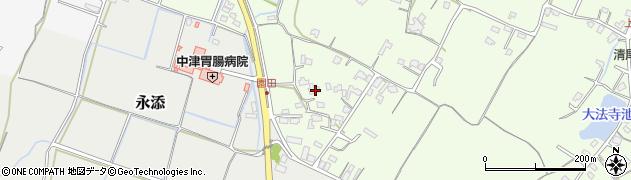 大分県中津市上池永708周辺の地図
