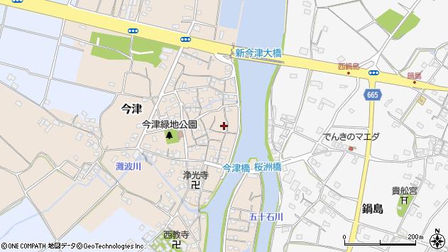 大分県中津市今津197周辺の地図