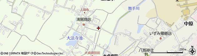 大分県中津市上池永204周辺の地図