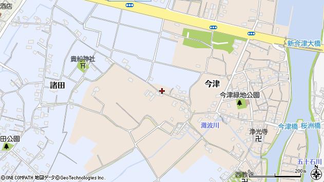 大分県中津市今津326周辺の地図