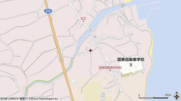 大分県国東市国東町北江4088周辺の地図
