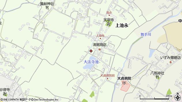 大分県中津市上池永457周辺の地図
