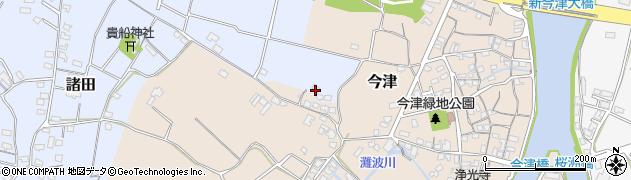 大分県中津市今津397周辺の地図