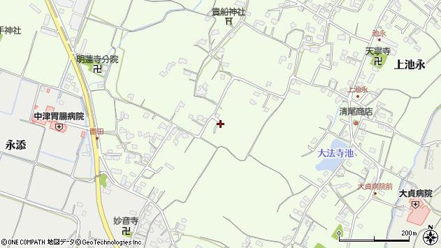 大分県中津市上池永667周辺の地図