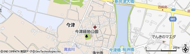 大分県中津市今津153周辺の地図