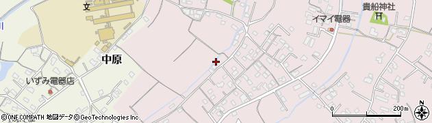 大分県中津市上如水327周辺の地図
