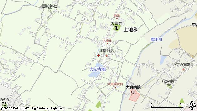 大分県中津市上池永454周辺の地図