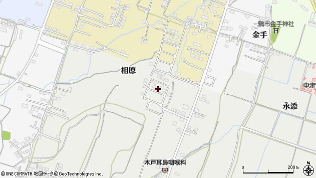 大分県中津市相原3844周辺の地図