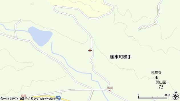 大分県国東市国東町横手2236周辺の地図
