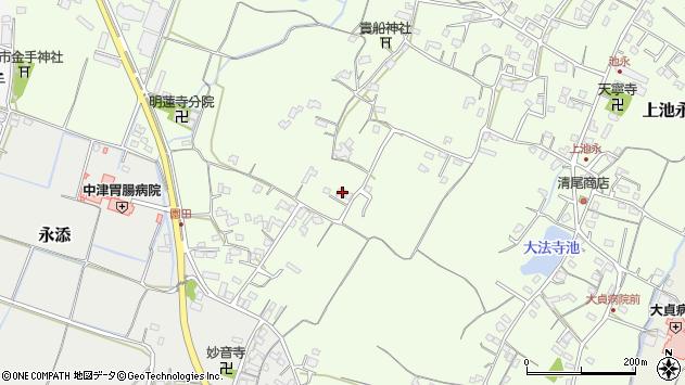 大分県中津市上池永674周辺の地図