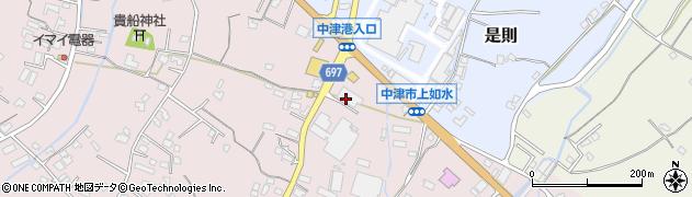大分県中津市上如水1335周辺の地図