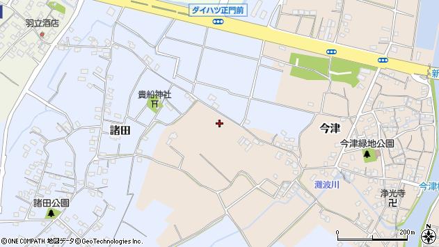 大分県中津市今津328周辺の地図