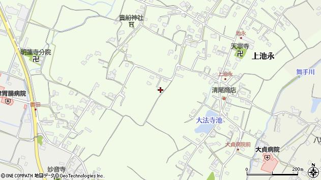 大分県中津市上池永646周辺の地図