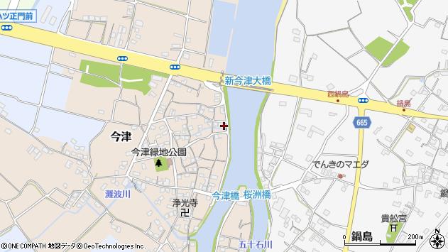 大分県中津市今津168周辺の地図