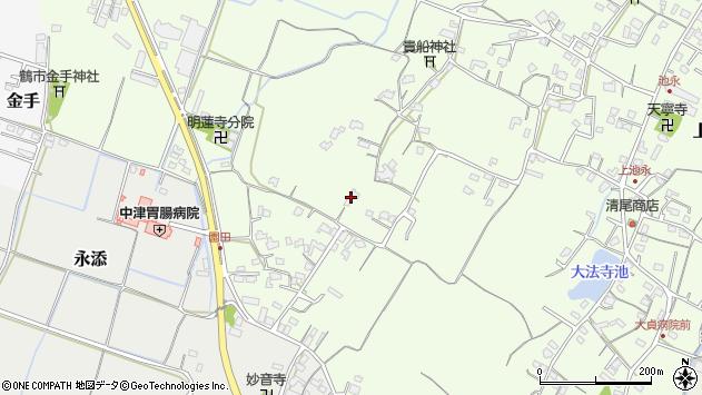 大分県中津市上池永754周辺の地図