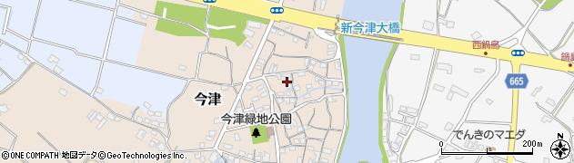 大分県中津市今津92周辺の地図