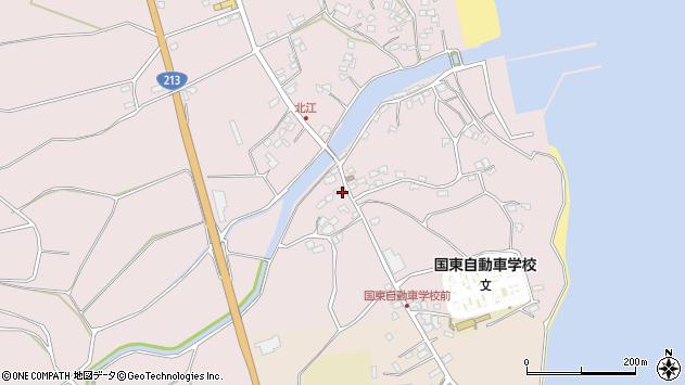 大分県国東市国東町北江4098周辺の地図